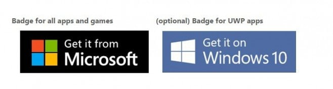 badge windows 10 microsoft