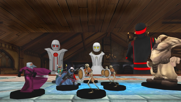 dungeons dragons realtà virtuale head