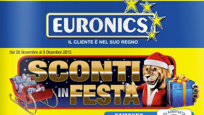 euronics sconti in festa