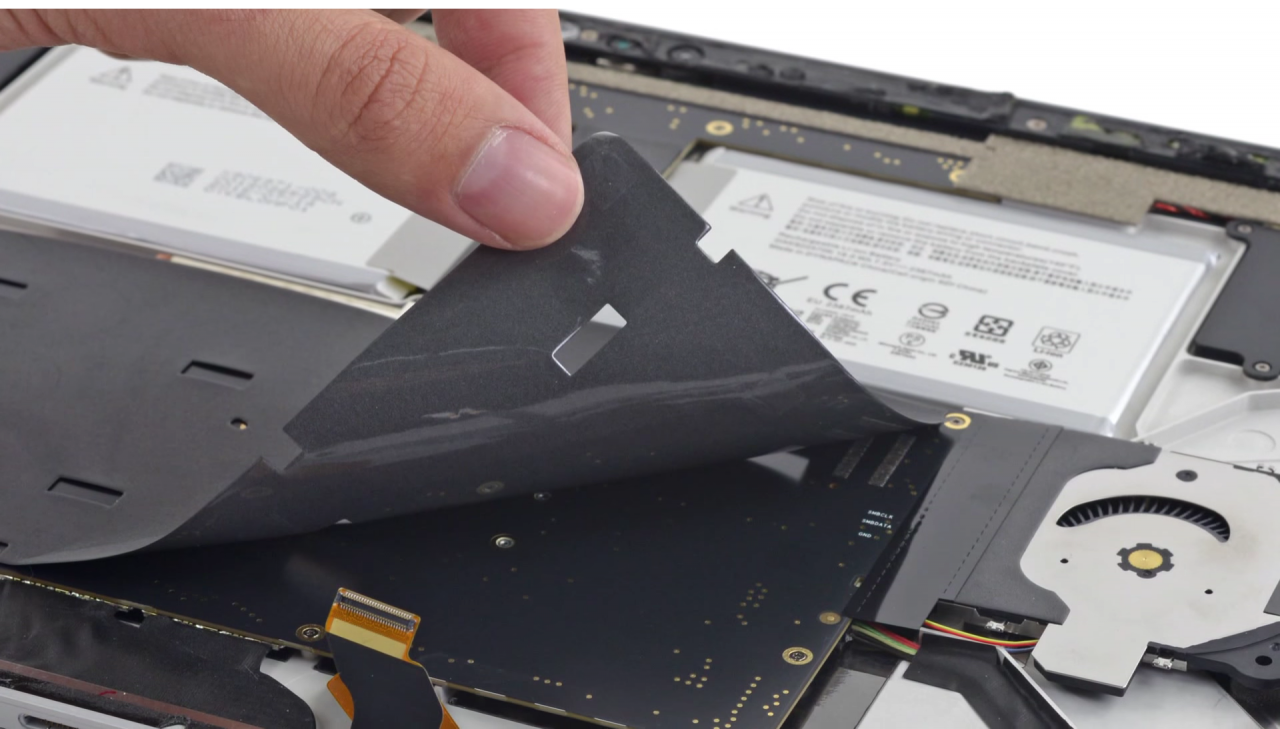 ifixit teardown microsoft surface book