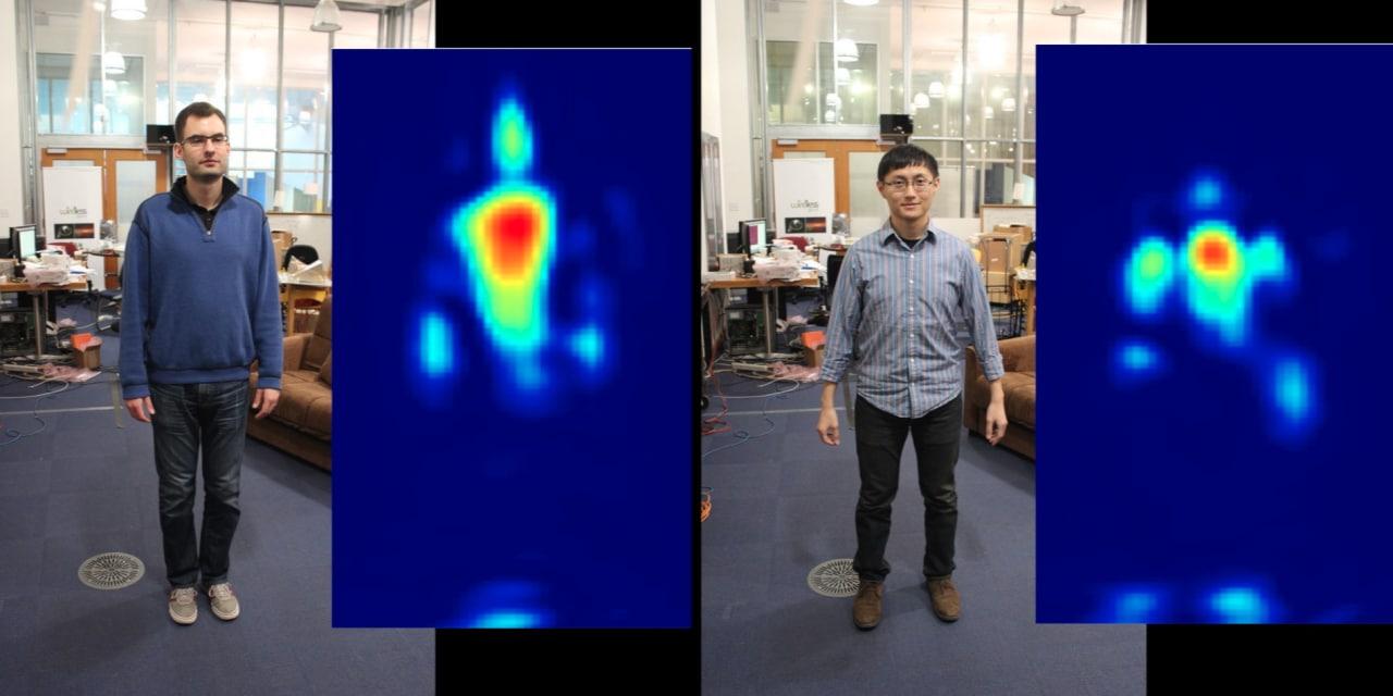"""Ricercatori del MIT """"spiano"""" attraverso i muri utilizzando reti Wi-Fi (video)"""