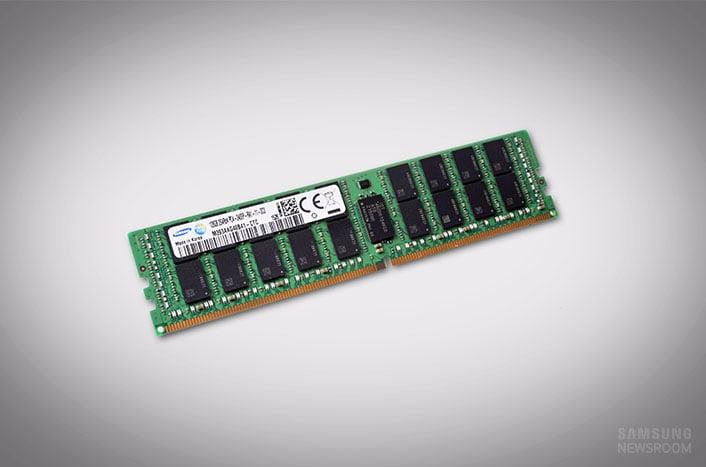 Samsung punta al settore Enterprise con dei moduli DDR4 da 128 GB