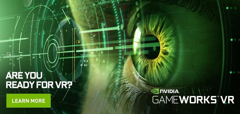 Gli SDK di NVIDIA promettono una realtà virtuale spettacolare e fluida (video)