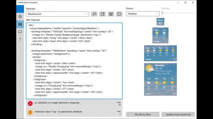 Sviluppare Live Tile per Windows 10 è più facile che mai
