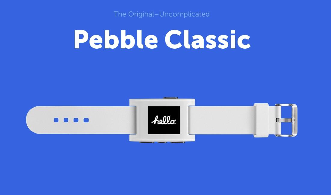 timeline ui pebble pebble steel