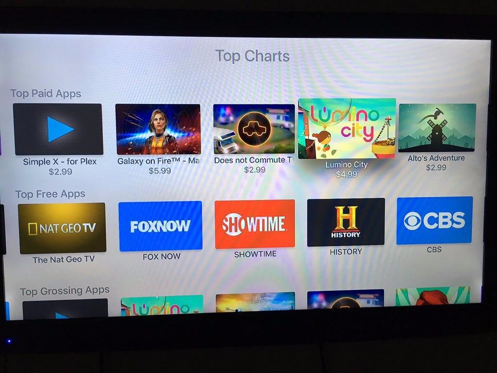 top charts apple tv