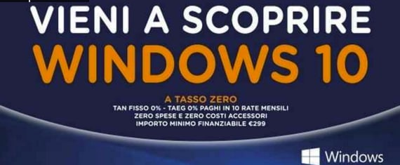 volantino unieuro windows 10