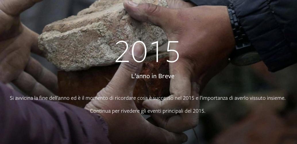 2015 facebook in breve