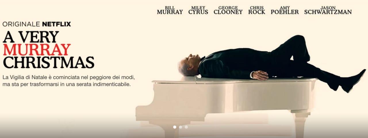"""Netflix vi augura """"Murray Christmas"""": arriva lo speciale di Natale con Bill Murray (video)"""
