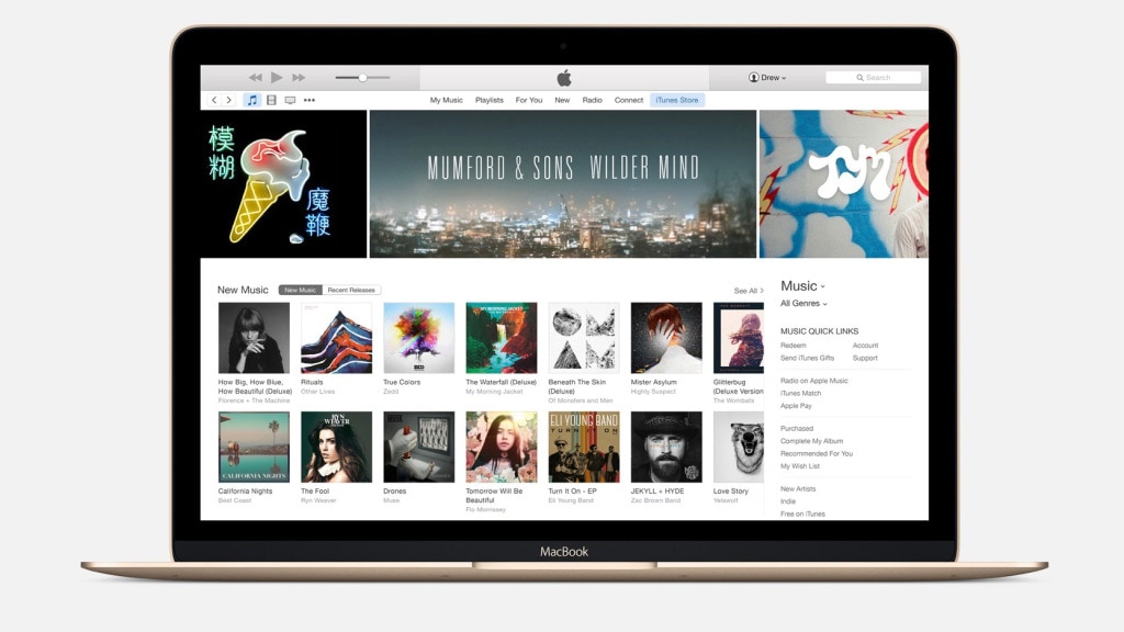 Apple Music - iTunes 12.3.2