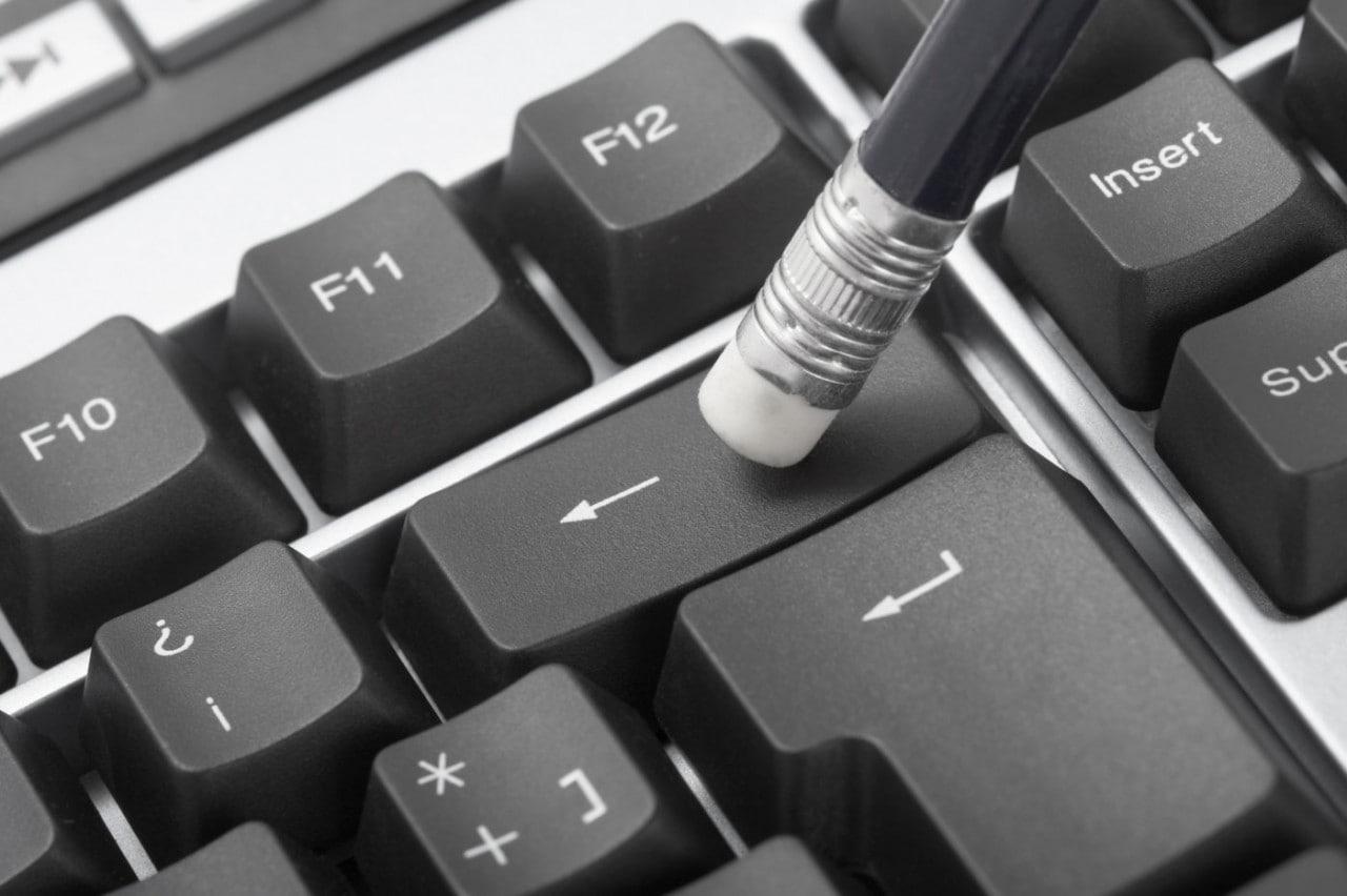 Backspace tastiera