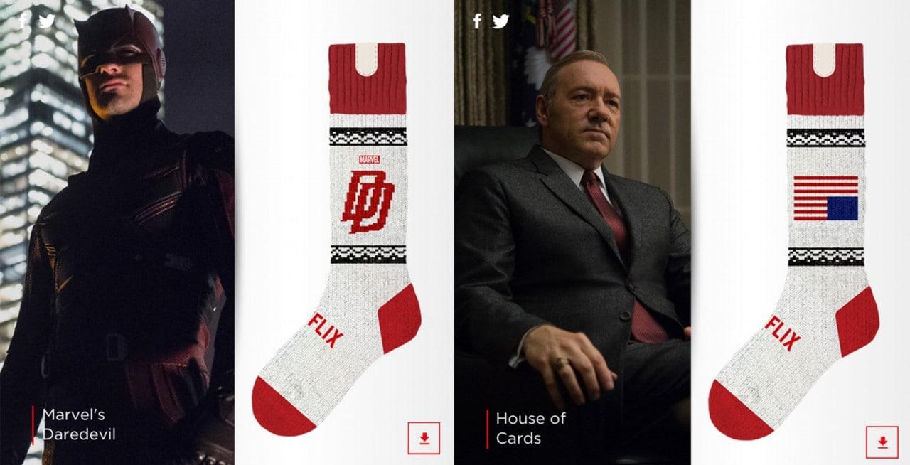 Netflix vi spiega come realizzare i calzini smart di House of Cards (o di Daredevil)!