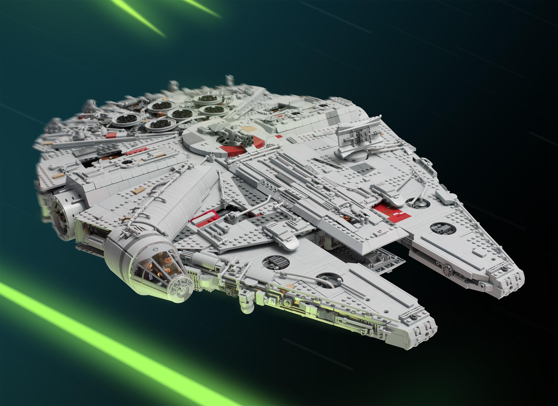 Custom LEGO Millennium Falcon – 11