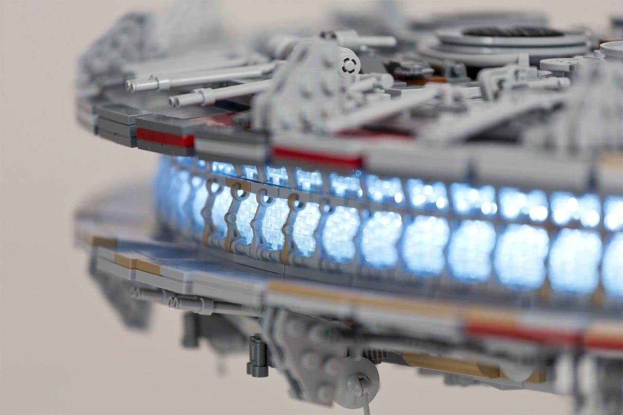 Custom LEGO Millennium Falcon - 2