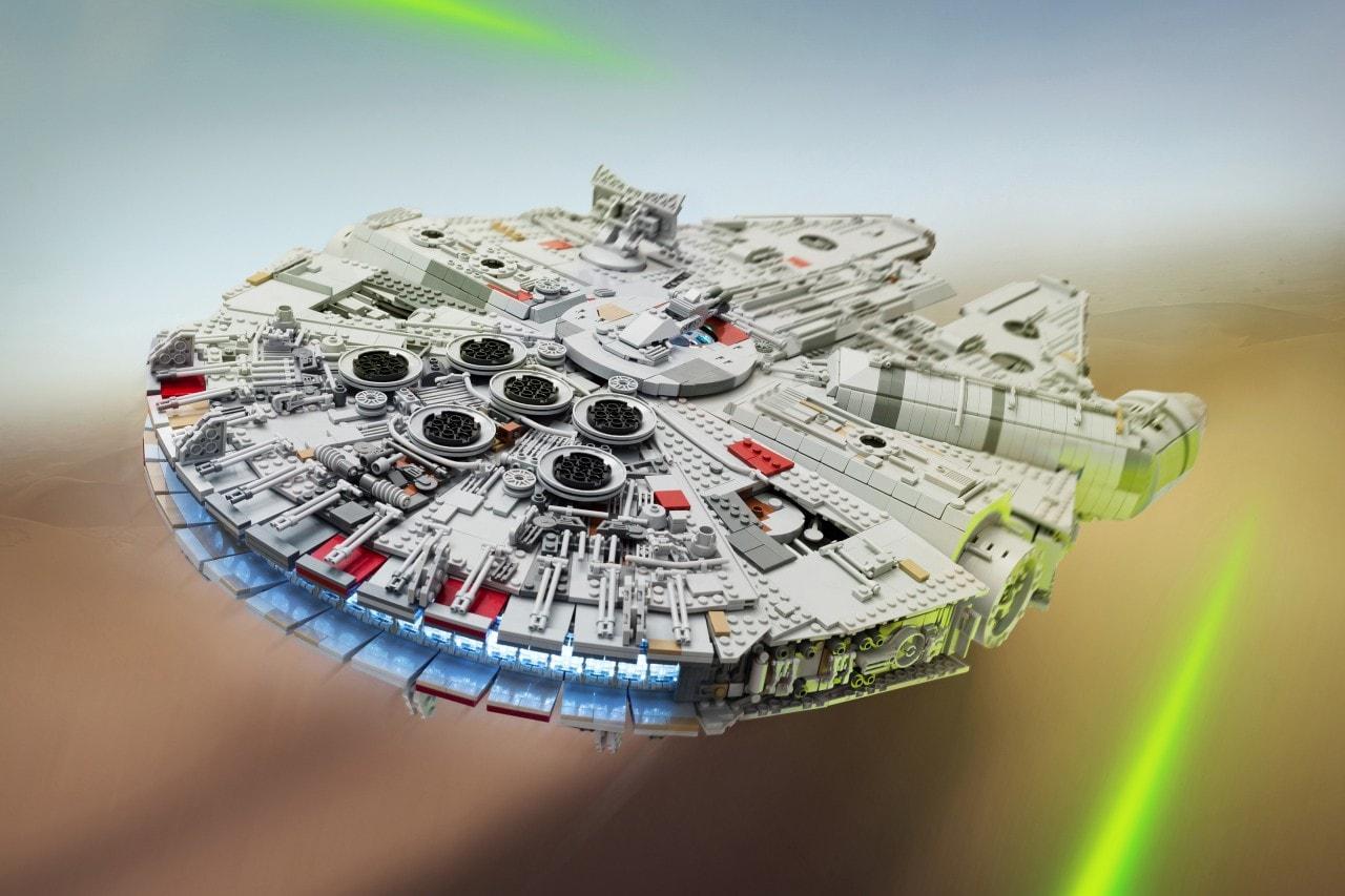 Custom LEGO Millennium Falcon - 4