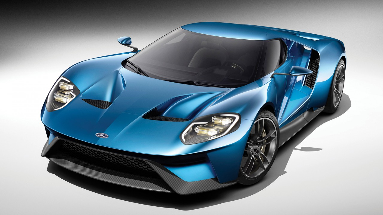 All-new Ford GT--Innovation through Performance, January 2015