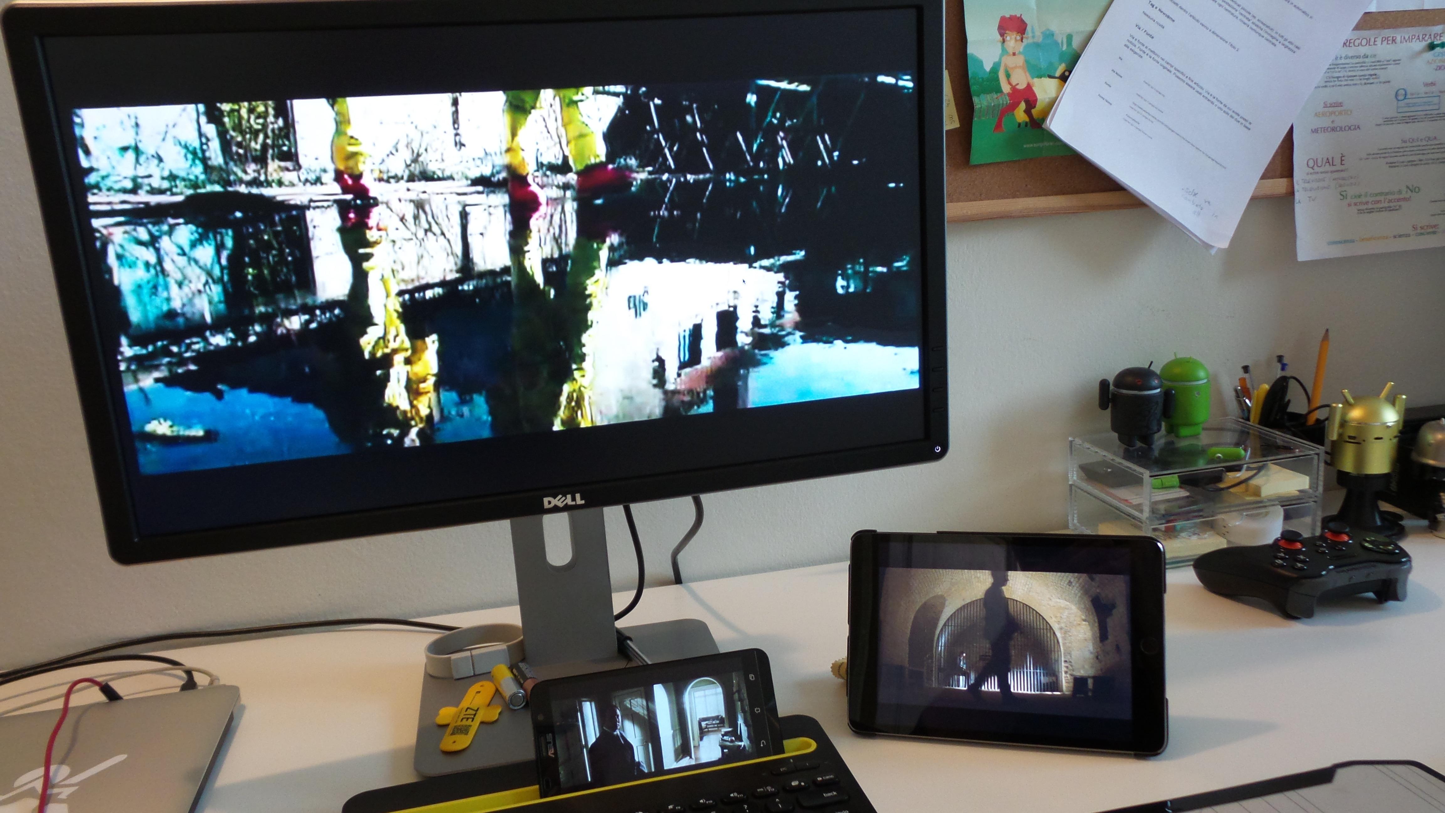 Infinity multi schermo