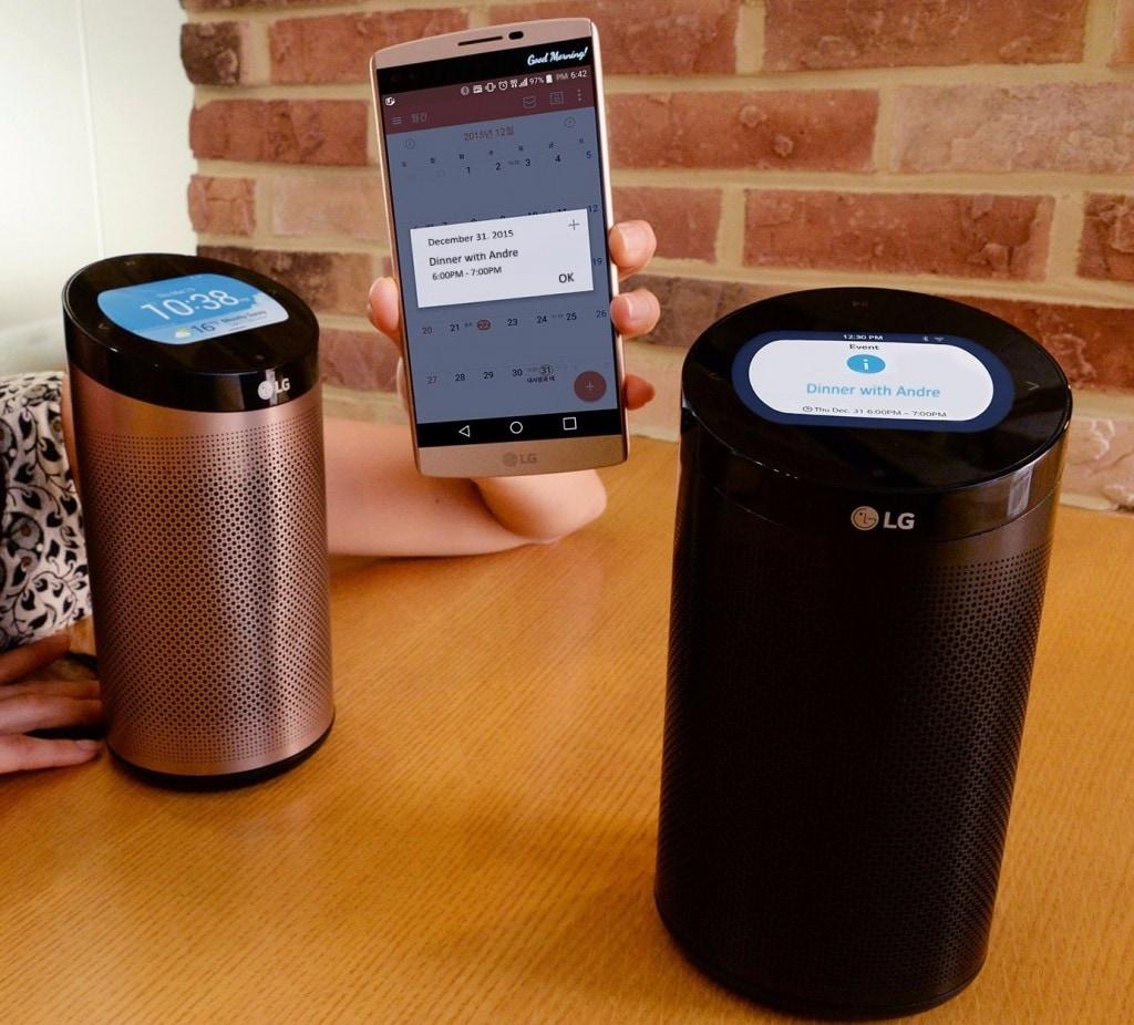 LG SmartThinQ: l'hub cilindrico che vuole comandare in casa vostra