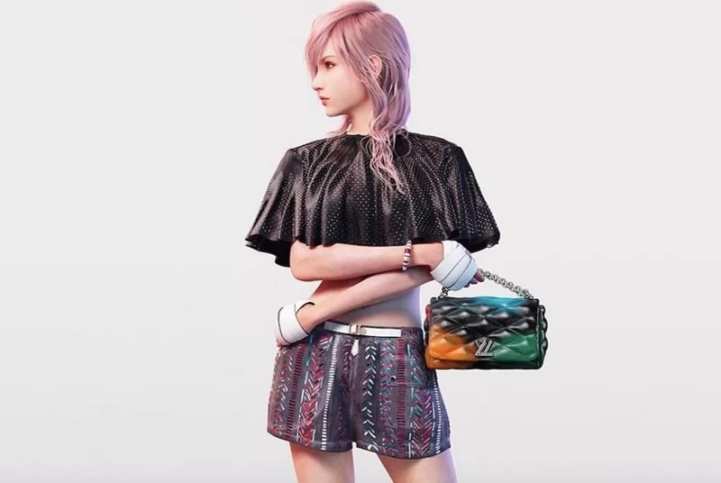 Louis Vuitton Lightning Final Fantasy XIII
