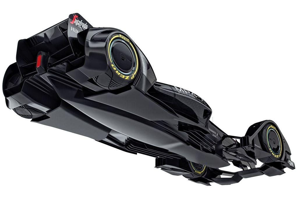 McLaren MP4-X concept formula 1 futuro (1)
