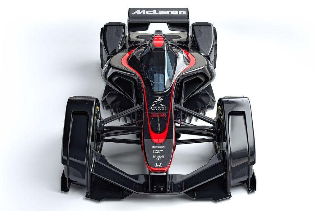 MP4-X: il concept di McLaren che trasforma le Formula 1 in astronavi (foto e video)