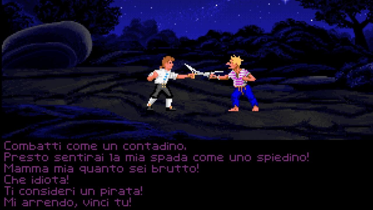 Monkey Island duelli insulti
