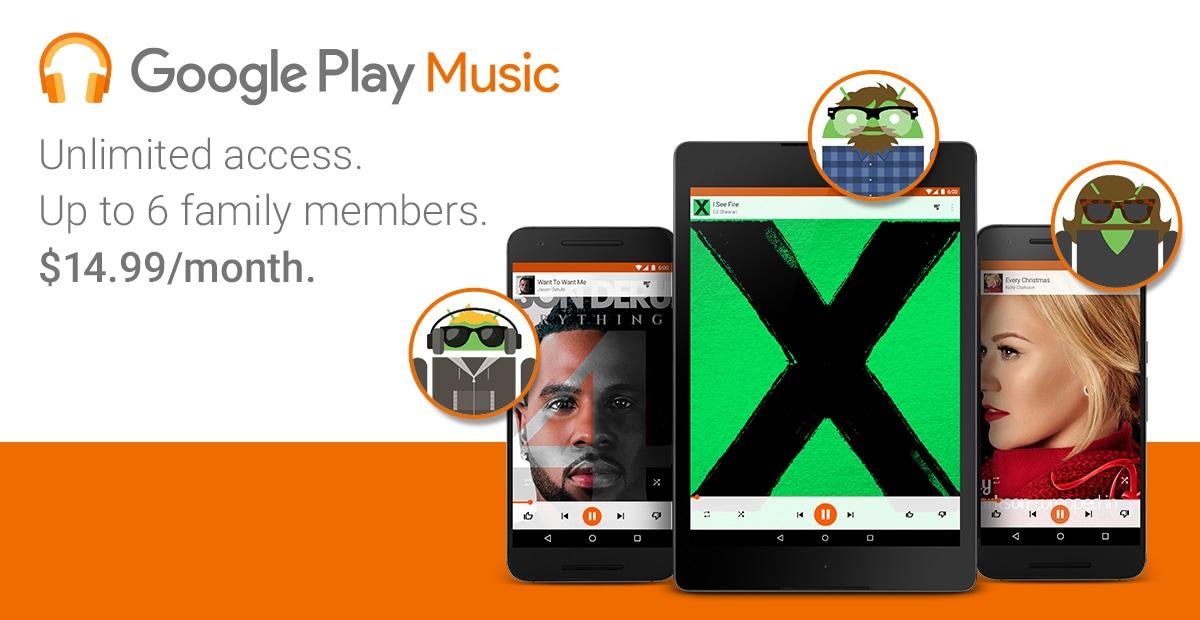 Play Music famiglia