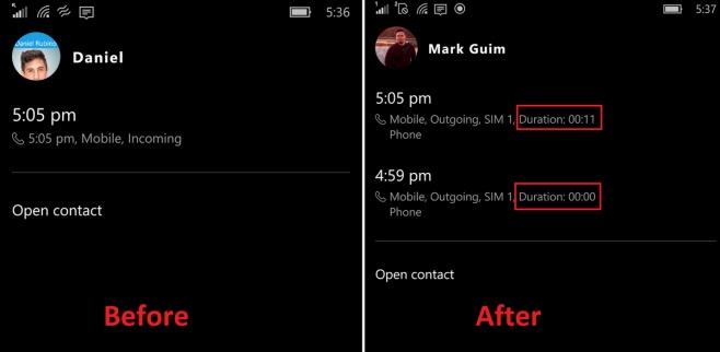 aggiornamento app telefono windows 10