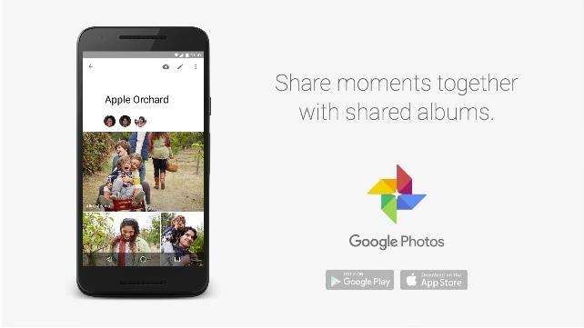 album condivisi google foto
