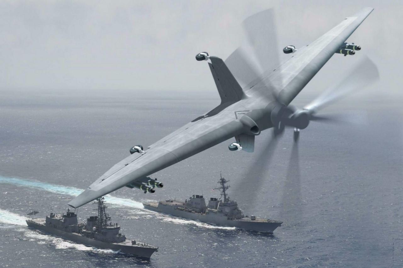 drone darpa ricognizioni