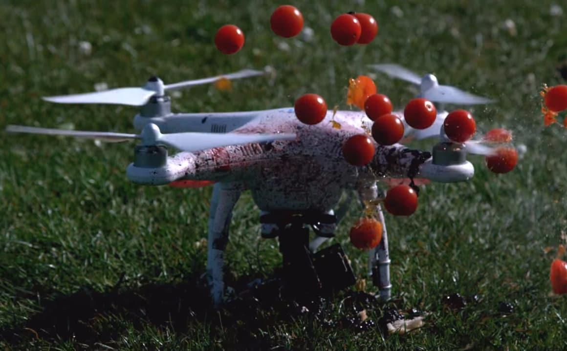 DJI Fruit Ninja: la triste storia del drone che voleva essere un frullatore (video)
