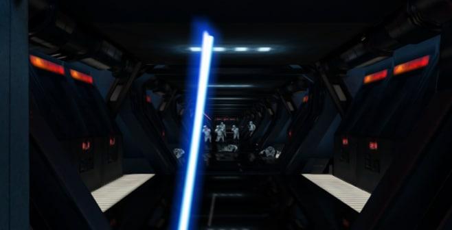 fuga con spada laser 2
