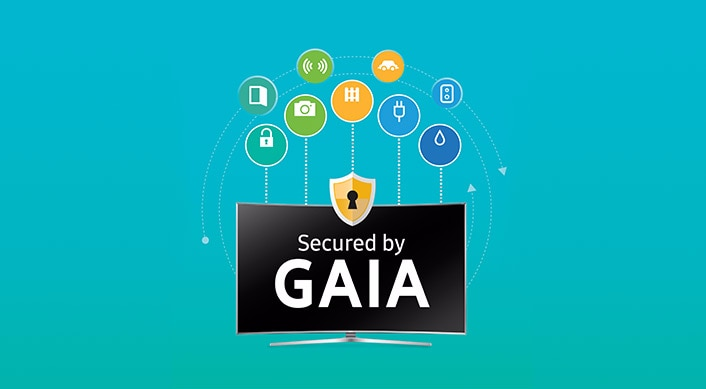 gaia sicurezza smart tv