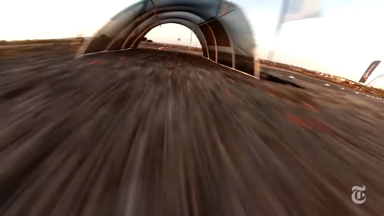 gare fra droni