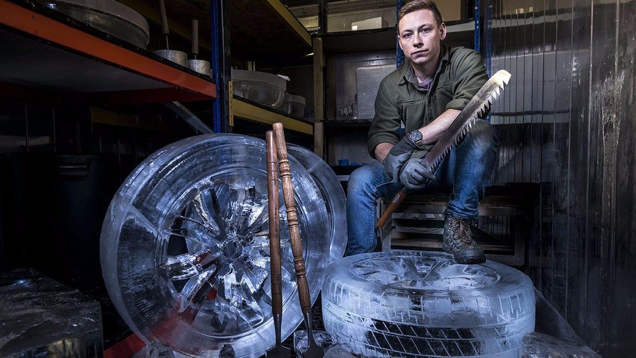 lexus ruote di ghiaccio