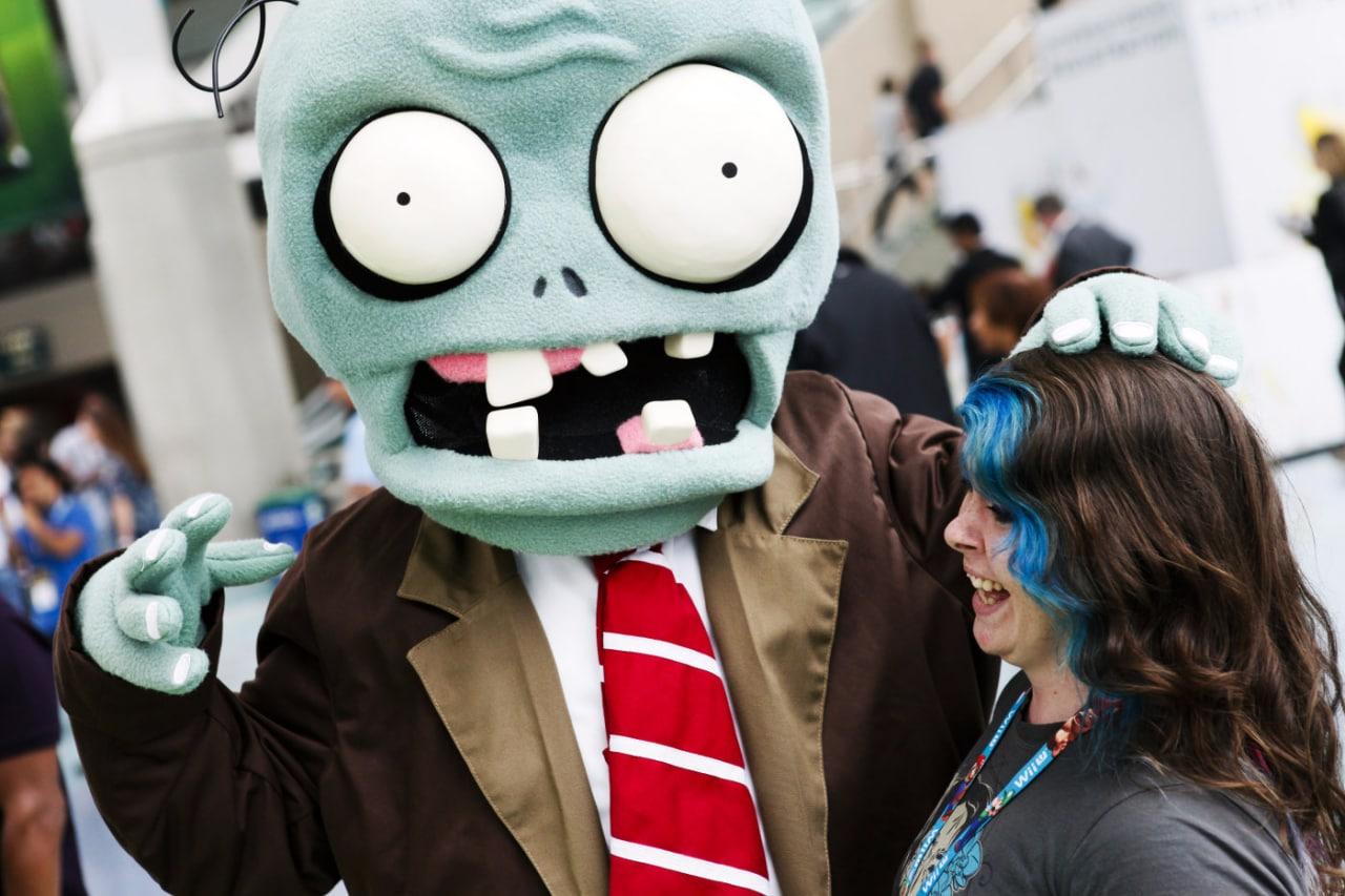 piante contro zombie parco divertimento