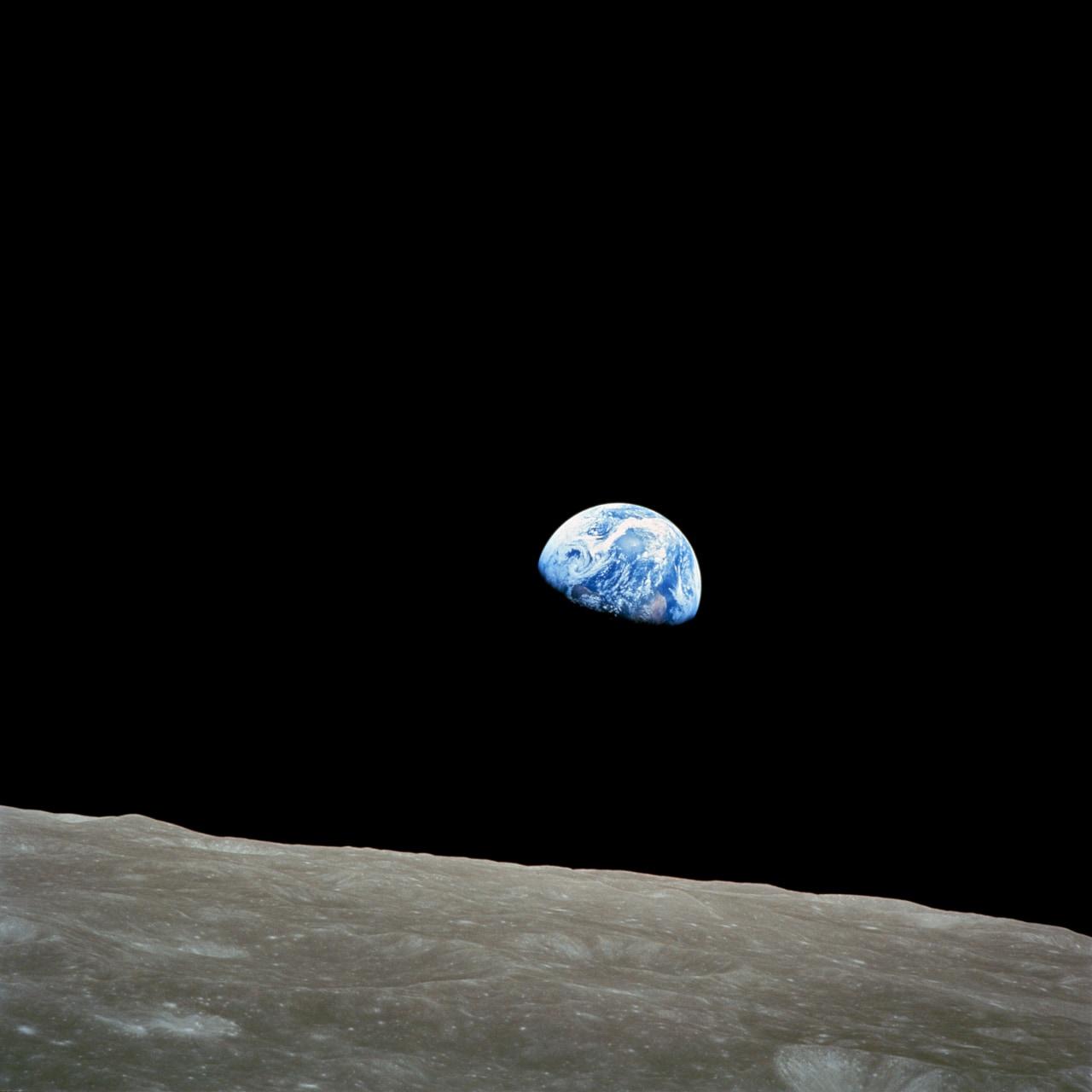 scatto terra dalla luna nasa 2