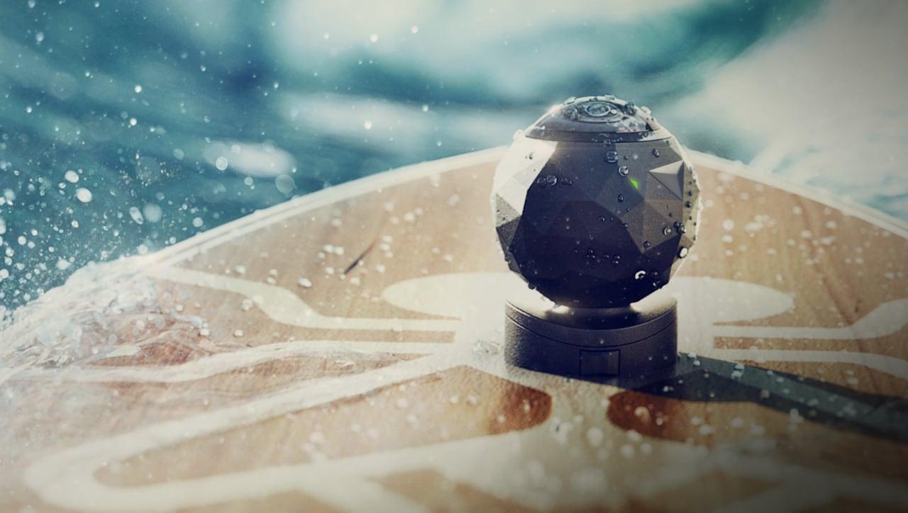 Questa piccola sfera è un'action cam che gira video a 360° (video)