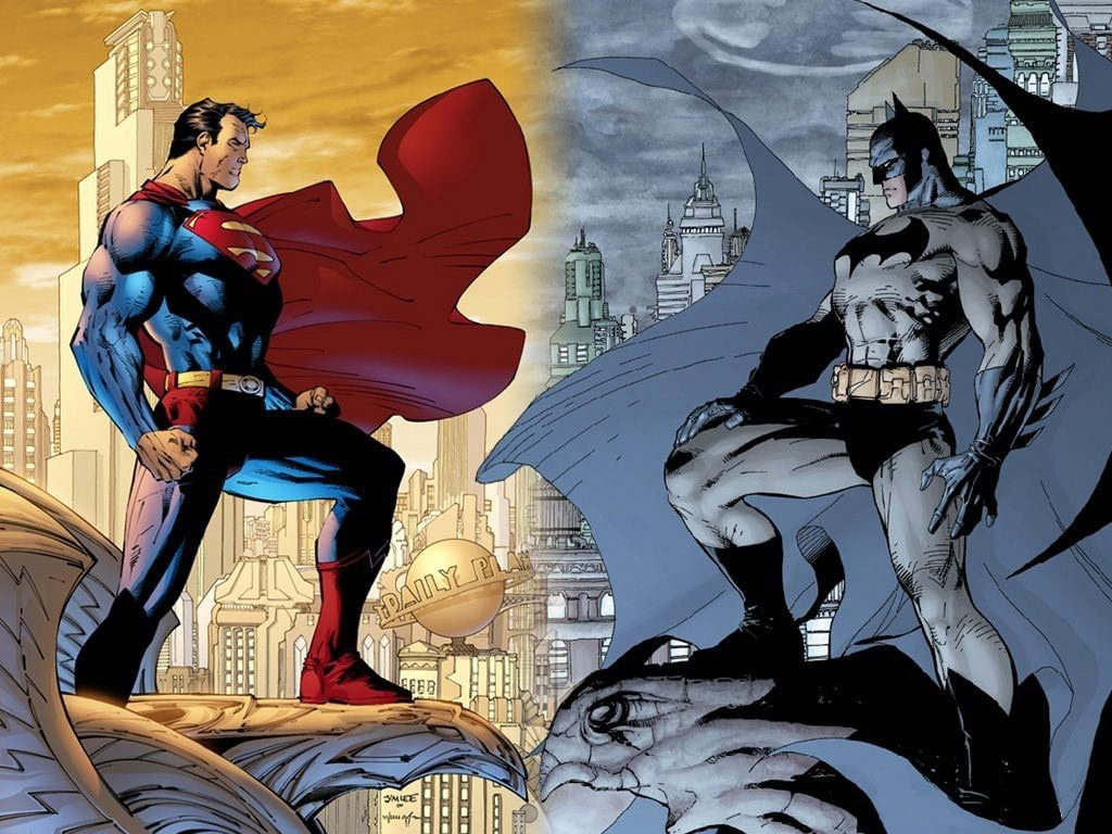 La Batmobile drifta addosso a Superman. O forse è il contrario. (video)