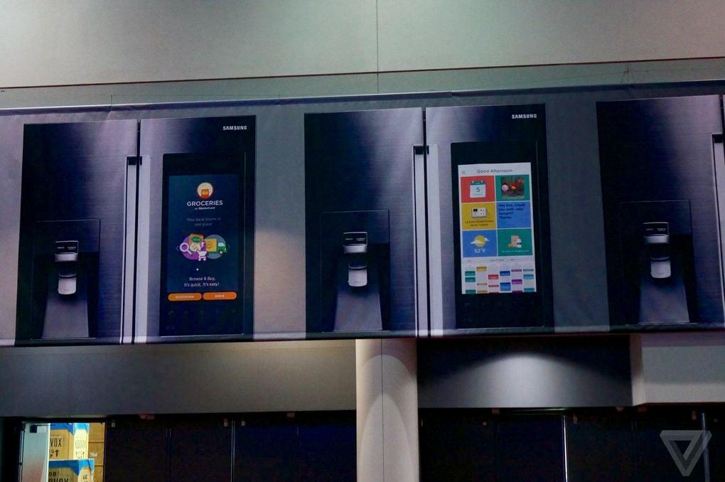 I frigoriferi smart di Samsung saranno anche enormi tablet? (foto)
