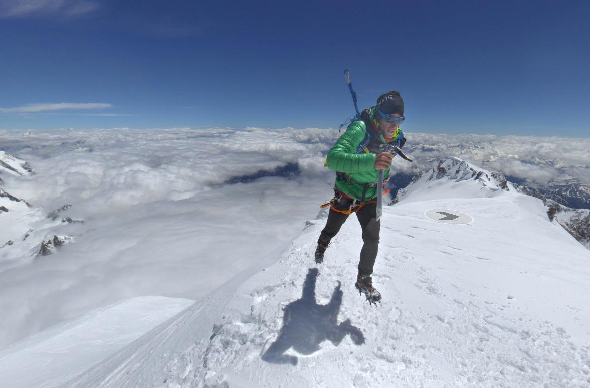 Google Street View Monte Bianco