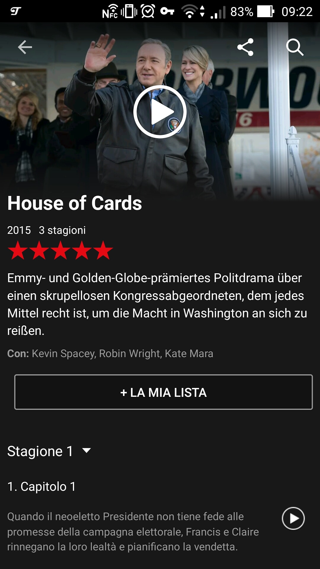 House of Cards Germania