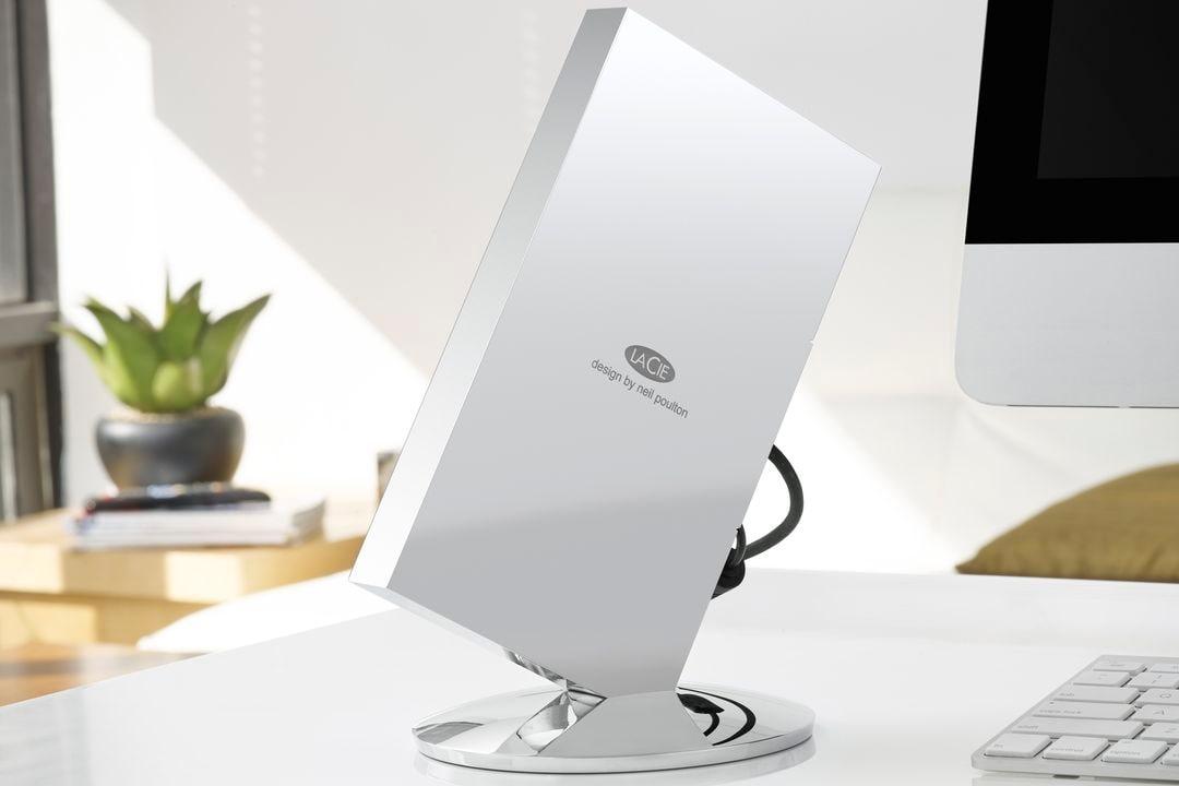 LaCie Chrome: l'hard disk esterno più elegante (e costoso) che potete immaginare (foto)