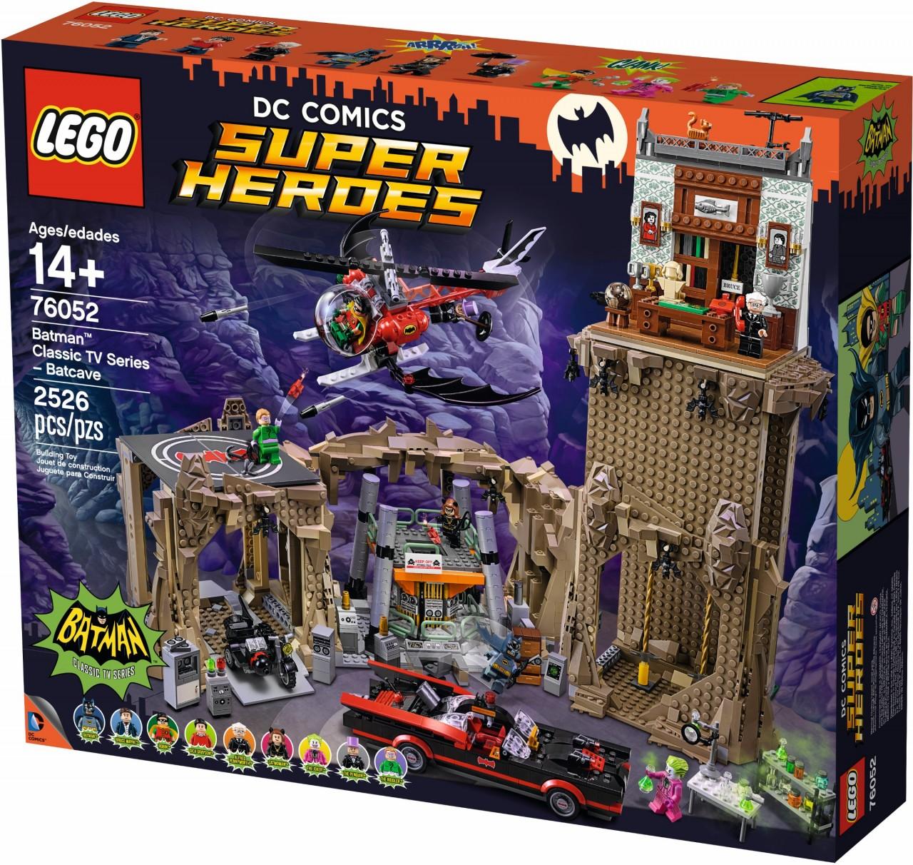 Lego 76052 Batman classic TV series - Batcave - 2
