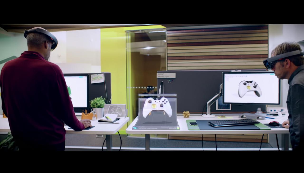 Nuovi interessanti dettagli su Microsoft HoloLens anche sull'autonomia (video)