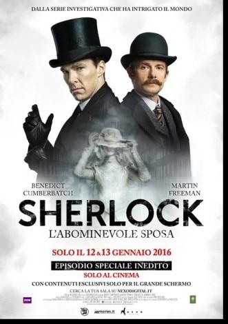 Sherlock - L'abominevole sposa locandina