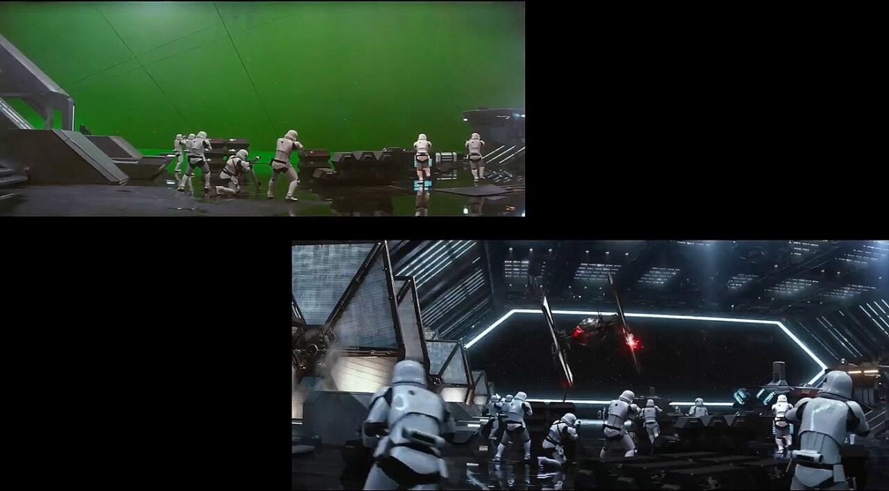 Star Wars Il Risveglio della Forza VFX
