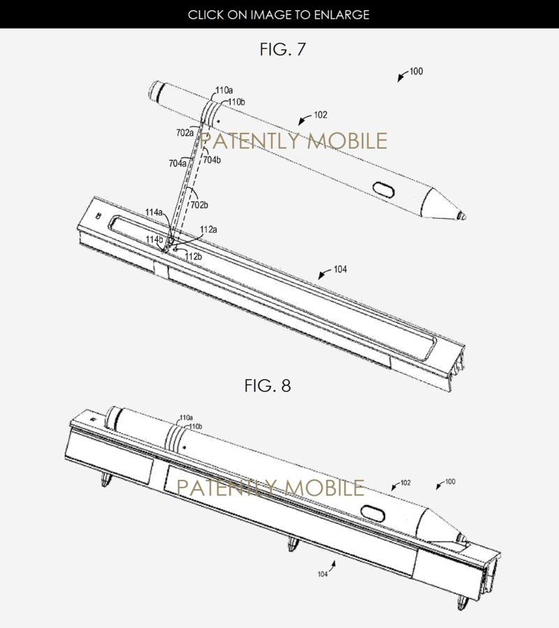 brevetto ricarica Surface Pen