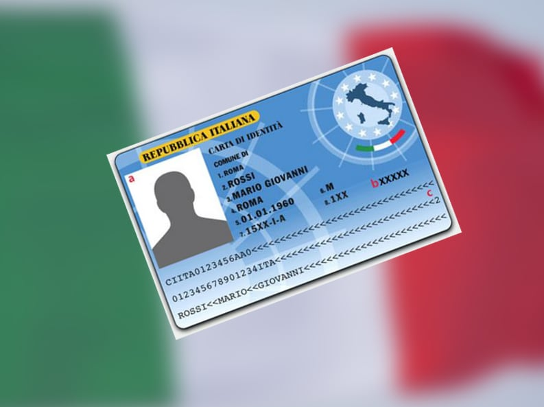 carta identità elettronica CIE Italia