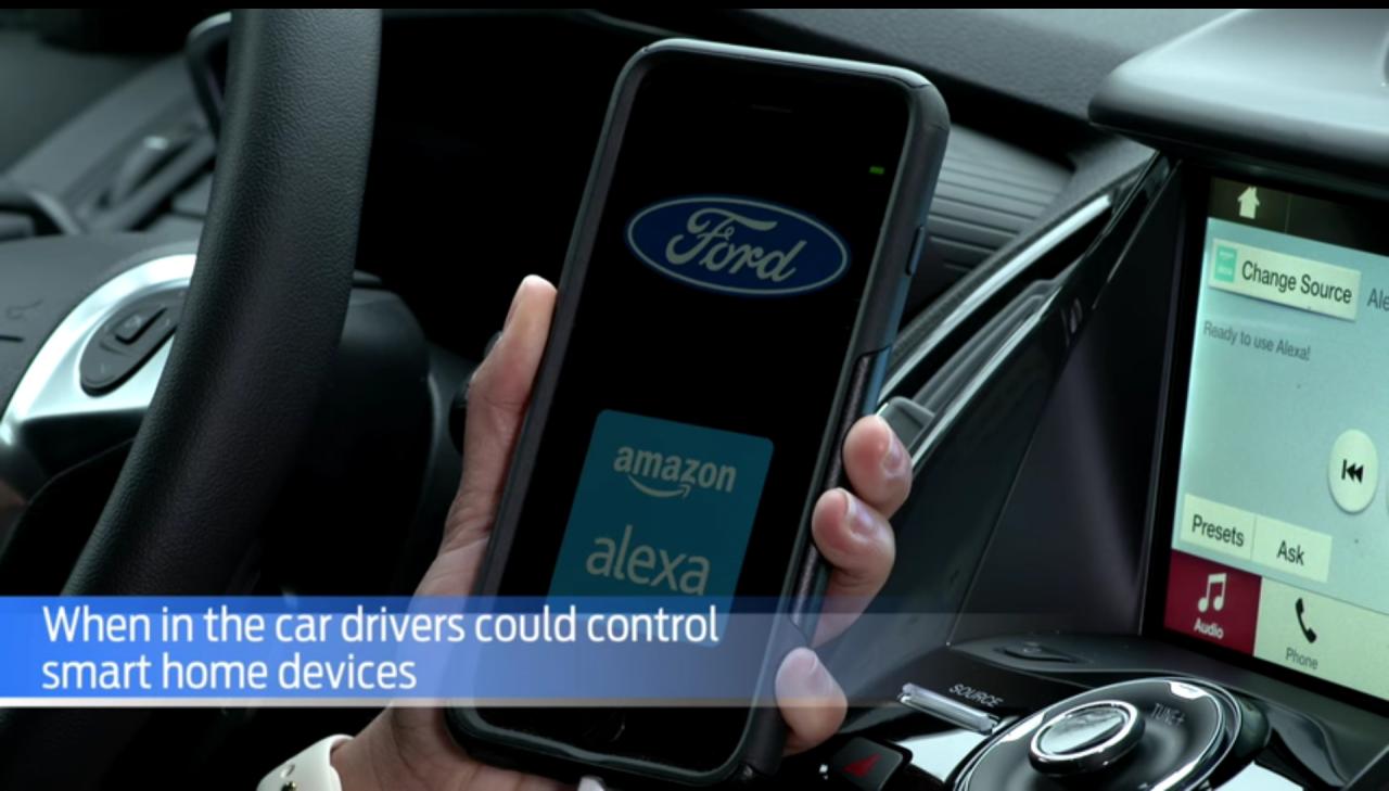 Ford ed Amazon insieme per integrare la casa smart con l'auto e viceversa (video)